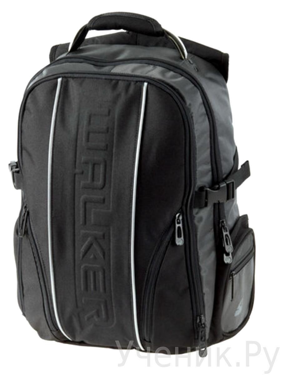 """Школьный рюкзак Walker """"Genious"""" черный Schneiders (Австрия) 42406/80"""