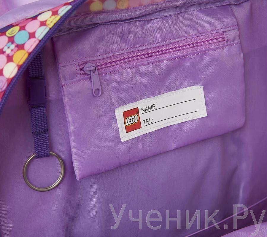 bb7881365fa1 Школьный рюкзак LEGO модель Maxi School Bag FRIENDS PATCHWORK 20017-1813