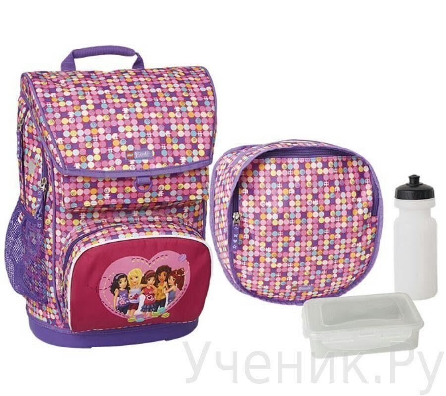 0f18ad885ab0 Школьный рюкзак LEGO модель Maxi School Bag FRIENDS CONFETTI 20017-1814