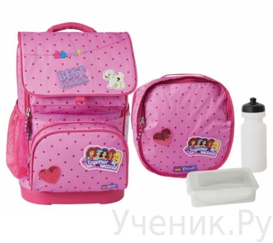 f7b7e9a7d5b5 Школьный рюкзак LEGO модель Optimo School Bag FRIENDS PATCHWORK ...