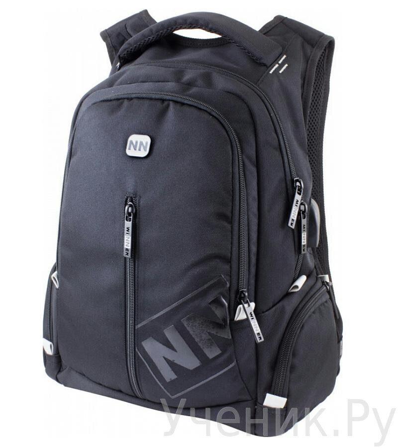 4998c8c34793 Школьный рюкзак WINNER 393 черный купить в интернет-магазине Ученик.Ру