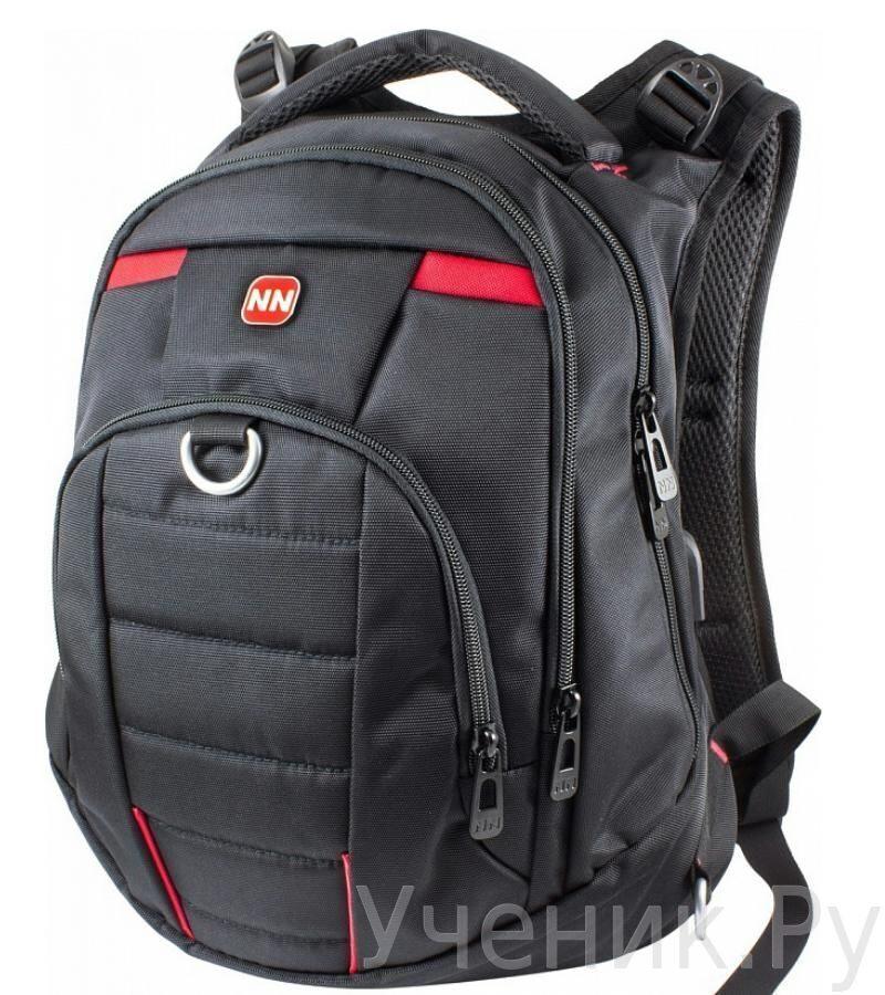 a7510da47bb8 Школьный рюкзак WINNER 8806 черно-красный