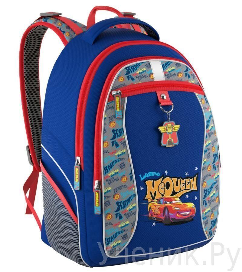 c6805f79d815 Школьный рюкзак Erich Krause (Эрих Краузе) Тачки Ретро ралли 42410