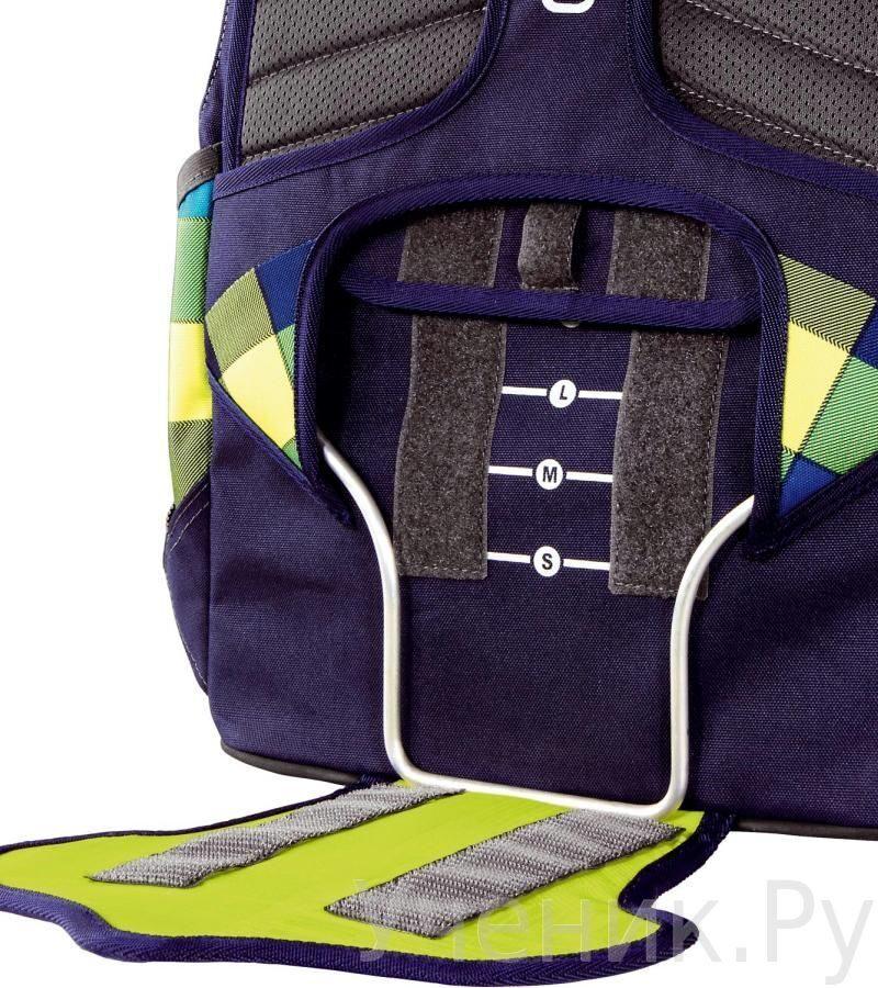 5f116de3e458 Рюкзак школьный Hama COOCAZOO EvverClevver 2 Checkmate Blue Red 129871