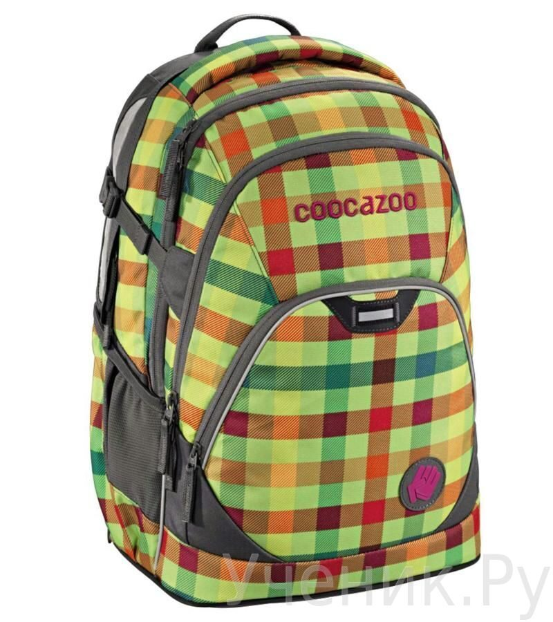 9d5a6ad98ee3 Рюкзак школьный Hama COOCAZOO EvverClevver 2 Hip To Be Square Green ...