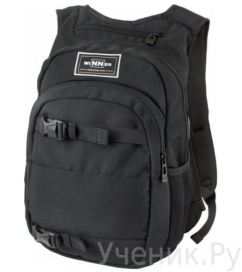 4b87afafb1b7 Школьный рюкзак WINNER 400 черный