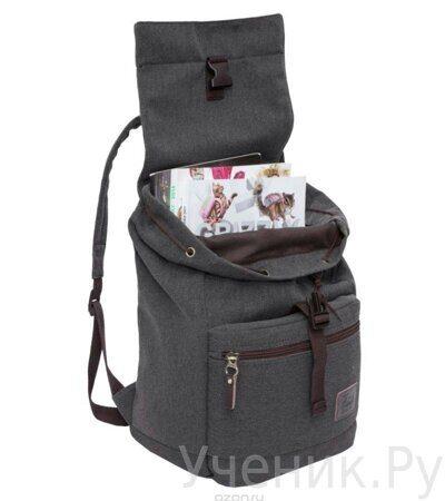 Рюкзак молодежный Grizzly черный RL-851-2-2