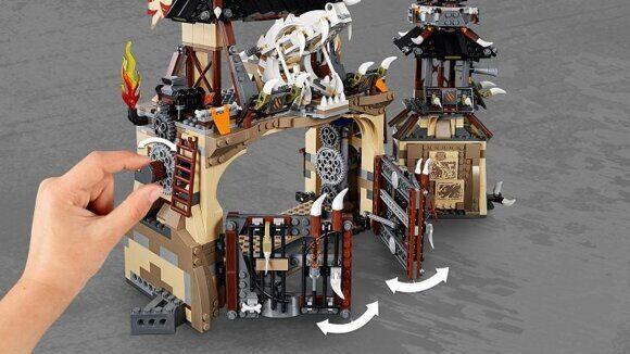 Конструктор LEGO Ninjago Набор Ниндзяго Пещера Драконов 70655-10