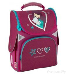Школьный ранец KITE GoPack Education LITTLE PRINCESS