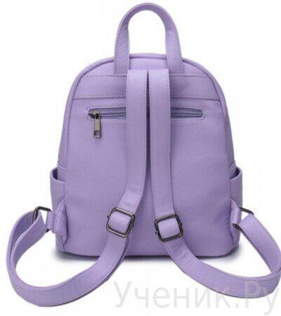 Рюкзак молодежный Grizzly DW-819-4 сиреневый-2
