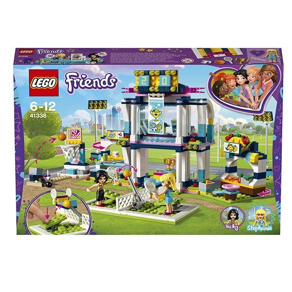 Конструктор LEGO Friends Подружки Набор Спортивная арена для Стефани 41338-7