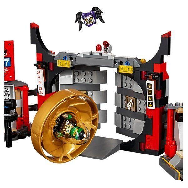 Конструктор LEGO Ninjago Набор Штаб-квартира Сынов Гармадона 70640-5