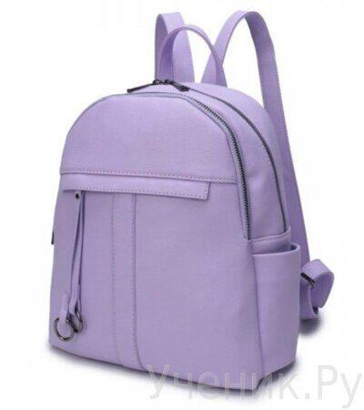 Рюкзак молодежный Grizzly DW-819-4 сиреневый-1