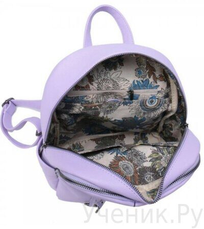 Рюкзак молодежный Grizzly DW-819-4 сиреневый-3