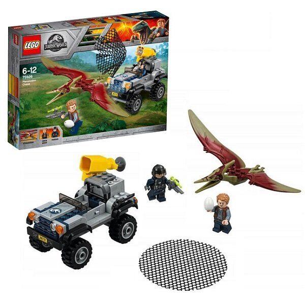 Конструктор LEGO Jurassic World Набор Мир Юрского Периода Погоня за птеранодоном 75926