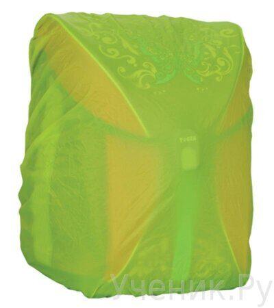 Чехол для ранца TIGER FAMILY (ТАЙГЕР) водонепроницаемый, неоновый желтый-1