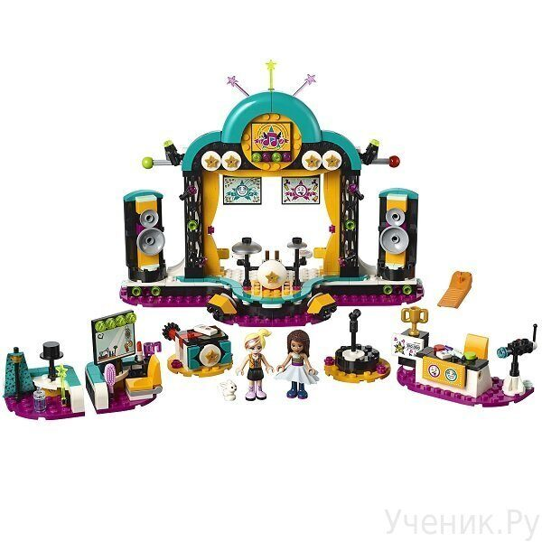 Конструктор LEGO Friends Подружки Шоу талантов 41368
