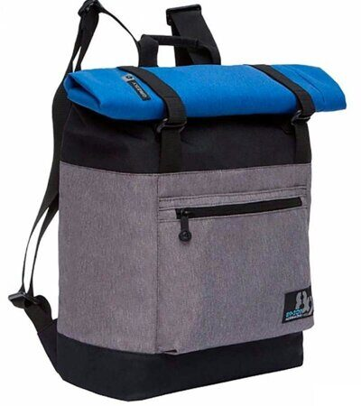 Рюкзак молодежный Grizzly RU-814-1 Черно-серый-1