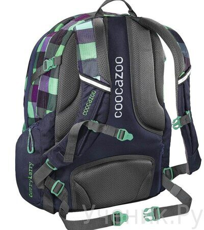 Рюкзак Coocazoo CarryLarry2 Green Purple District-3