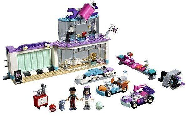 Конструктор LEGO Friends Подружки Набор Мастерская по тюнингу автомобилей 41351-1