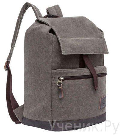 Рюкзак молодежный Grizzly коричневый RL-851-2-1
