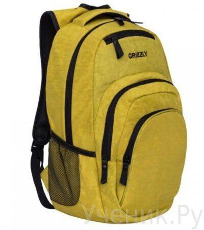 Рюкзак молодежный Grizzly RQ-900-1 табачный -1