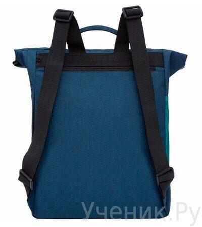 Рюкзак молодежный Grizzly RU-814-1 Сине-бирюзовый-2