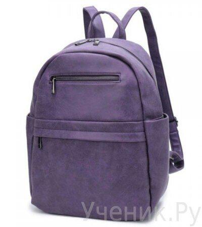 Рюкзак молодежный Grizzly DW-814-3 фиолетовый-1