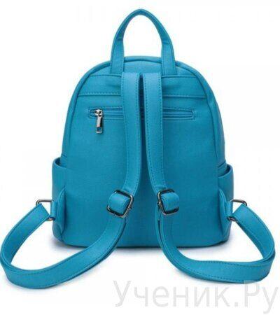 Рюкзак молодежный Grizzly DW-819-3 голубой-2