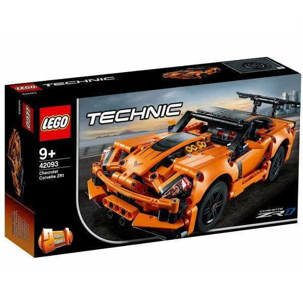 LEGO Technic 42093 Конструктор ЛЕГО Техник Chevrolet Corvette ZR1-6