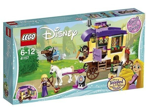 Конструктор LEGO Disney Princess Конструктор LEGO Disney Princess Экипаж Рапунцель 41157-6