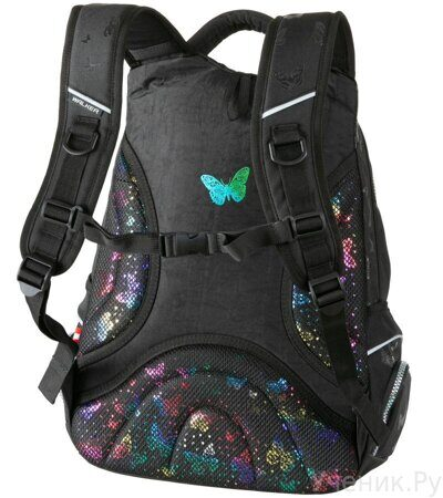 Рюкзак Walker Fame Butterfly Black-4