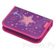 Пенал школьный Herlitz MELODY STAR (31 предмет)