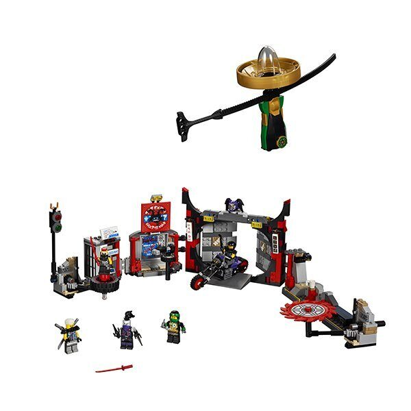 Конструктор LEGO Ninjago Набор Штаб-квартира Сынов Гармадона 70640-2