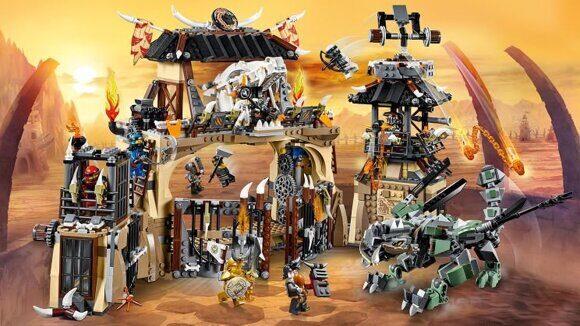 Конструктор LEGO Ninjago Набор Ниндзяго Пещера Драконов 70655-5