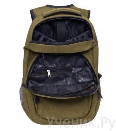 Рюкзак молодежный Grizzly RQ-900-1-2  хаки-3
