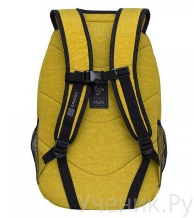 Рюкзак молодежный Grizzly RQ-900-1 табачный-2