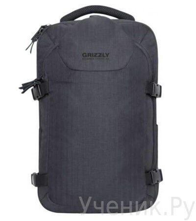 Рюкзак молодежный Grizzly RQ-914-1 черный