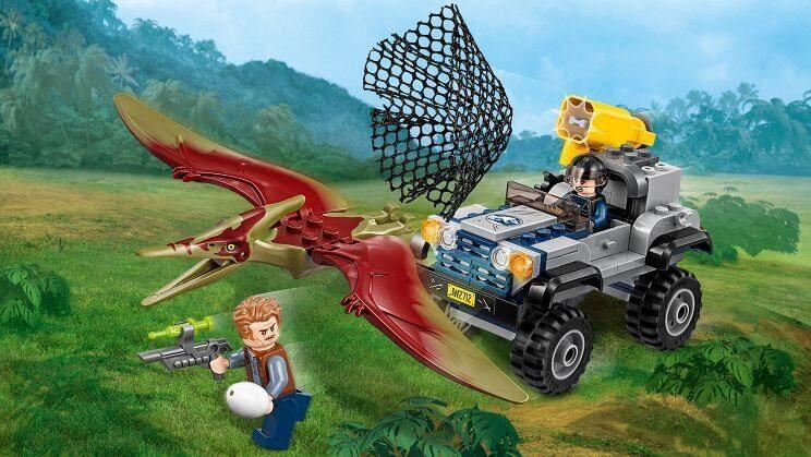 Конструктор LEGO Jurassic World Набор Мир Юрского Периода Погоня за птеранодоном 75926-7