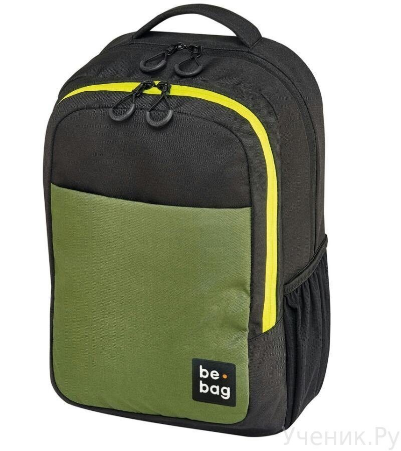 Рюкзак HERLITZ Be.BAG Be.Clever Black&Olive