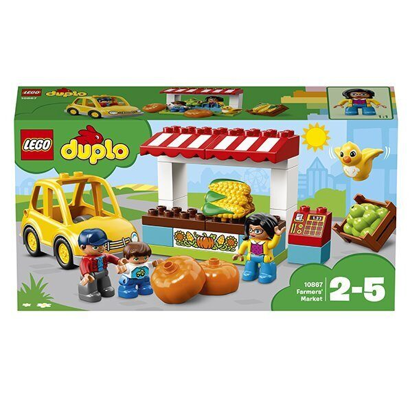 Конструктор LEGO Duplo Фермерский рынок-7