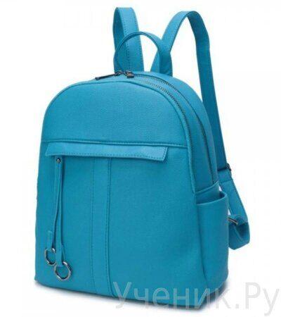 Рюкзак молодежный Grizzly DW-819-3 голубой-1