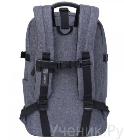 Рюкзак молодежный Grizzly RQ-914-1-2 серый-2