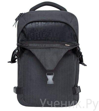 Рюкзак молодежный Grizzly RQ-914-1 черный-1