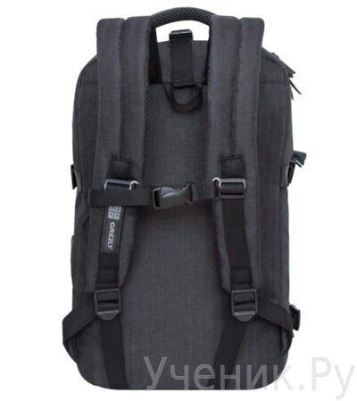Рюкзак молодежный Grizzly RQ-914-1 черный-2