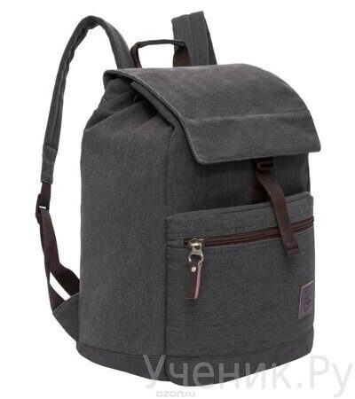 Рюкзак молодежный Grizzly черный RL-851-2-1