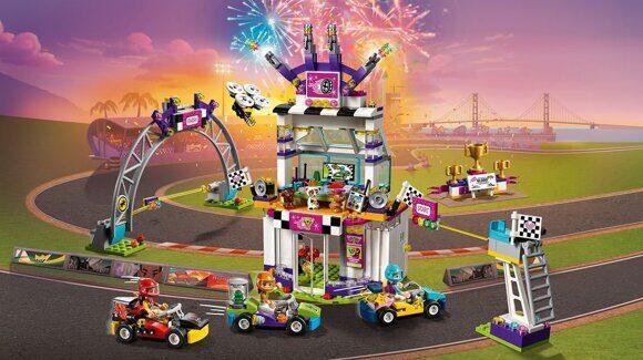 Конструктор LEGO Friends Подружки Набор Большая гонка 41352-5