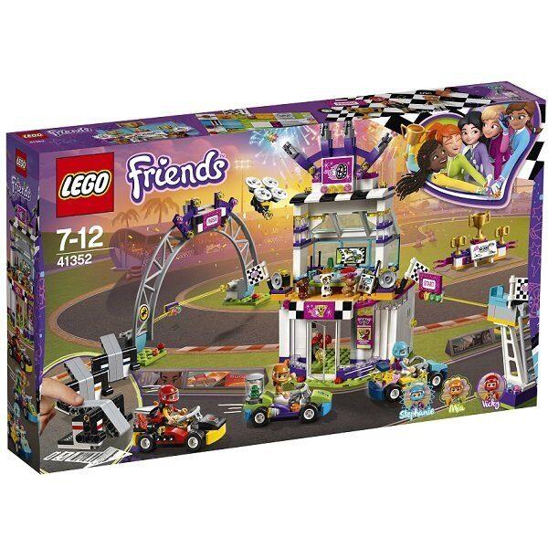 Конструктор LEGO Friends Подружки Набор Большая гонка 41352-3
