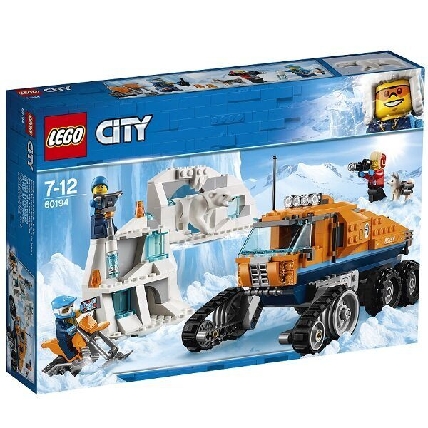конструктор lego Арктическая экспедиция Грузовик ледовой разведки 60194-3