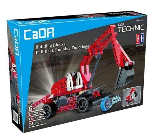 Конструктор CaDa Technic экскаватор c инерционным механизмом C52012W